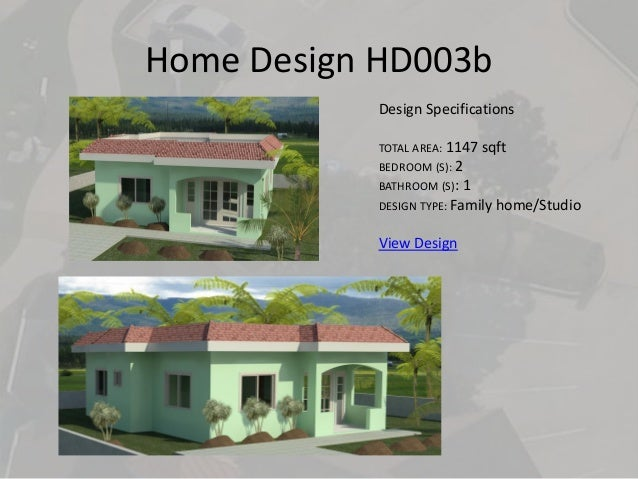 Home Design  Caribbean House Plans v1