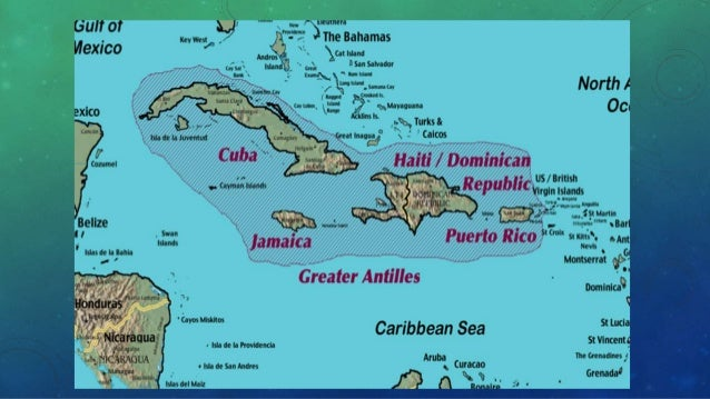 physical geography of the caribbean