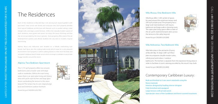 Caribbean Residences at Bacolet Bay Investment Prospectus (Property F…