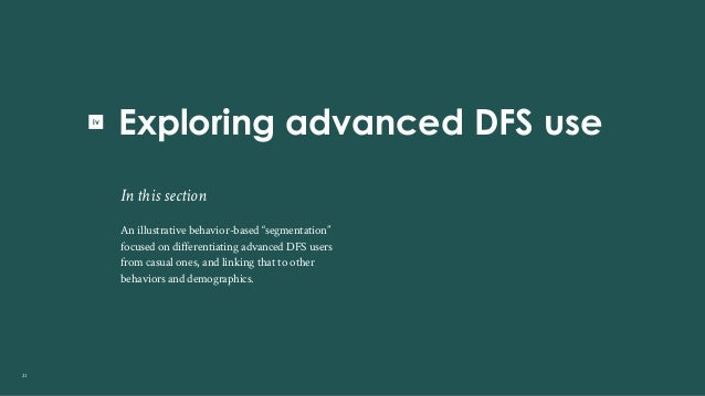 DFS use among digital Kenyans Slide 21