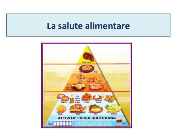 La salute alimentare