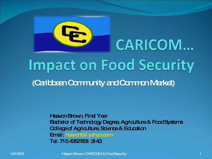 the caribbean community and common market Read this full essay on caricom(caribbean community and common market)  history: -caricom was preceded by another organization, the british west.