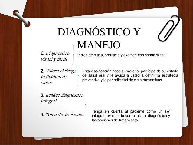 Profilaxis profesional La profilaxis profesional, además de ayudar en el diagnóstico de caries, sirve para ayudar a detene...