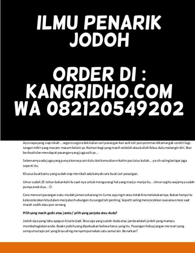 Cari Jodoh Janda Kembang Kenalan Ajak Nikah No Hp 2019
