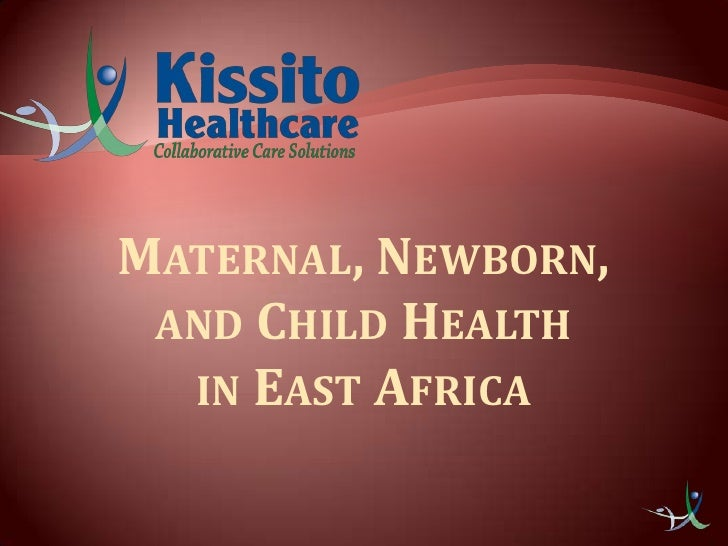 Maternal, Newborn, and Child Health in East Africa<br />
