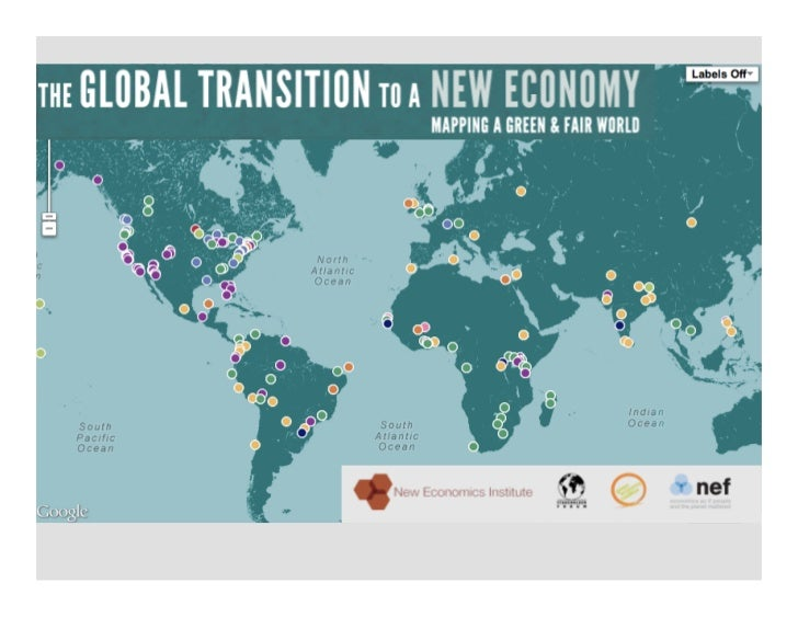Mapping the new economy