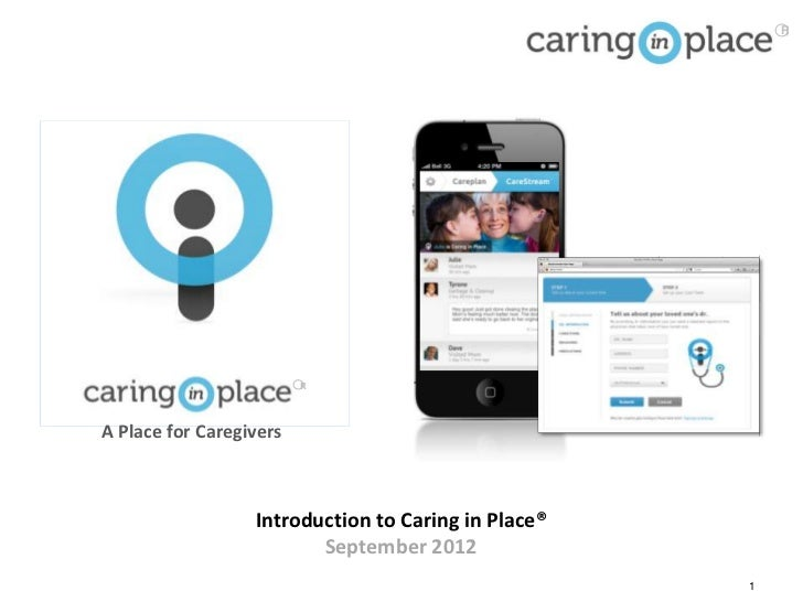 R                         RA Place for Caregivers                  Introduction to Caring in Place®                       ...