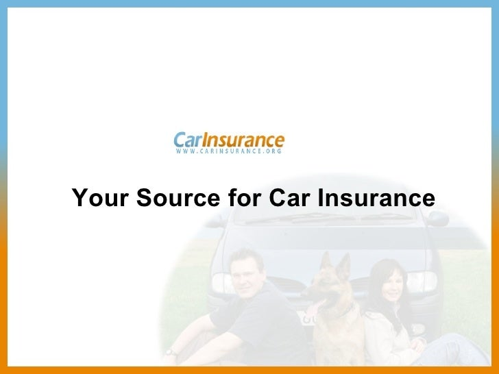 Your Source for Car Insurance