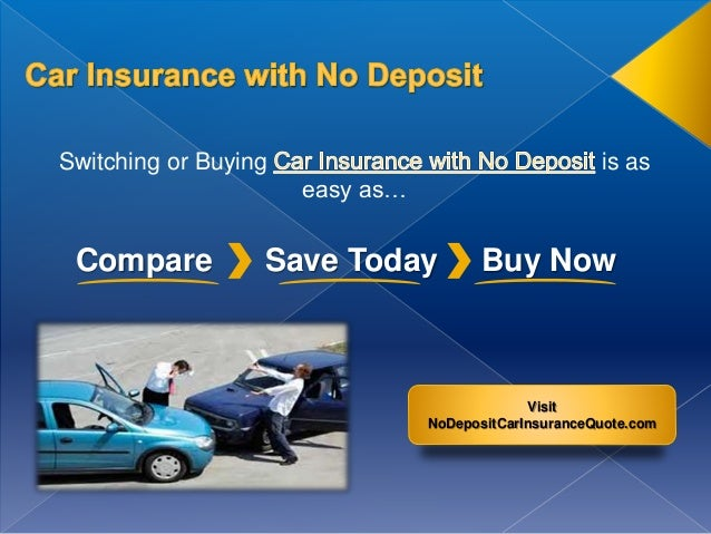 Irish car insurance no deposit