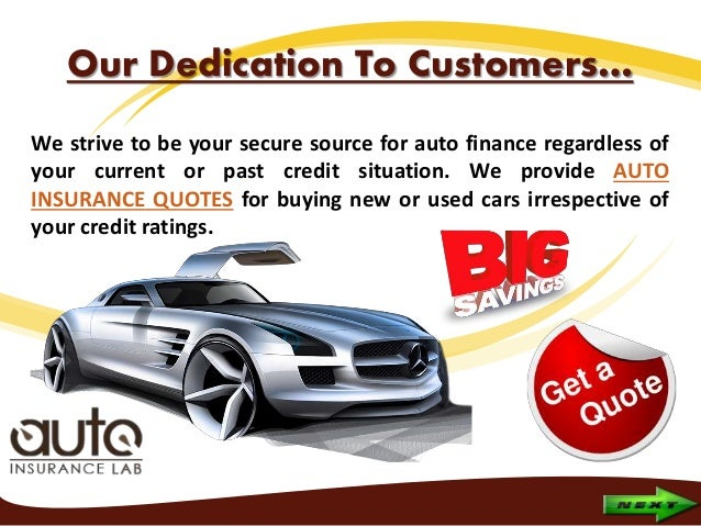 Getting Auto Insurance Before Financing A Car