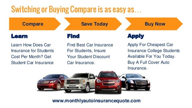 Car Insurance Quotes For College Students