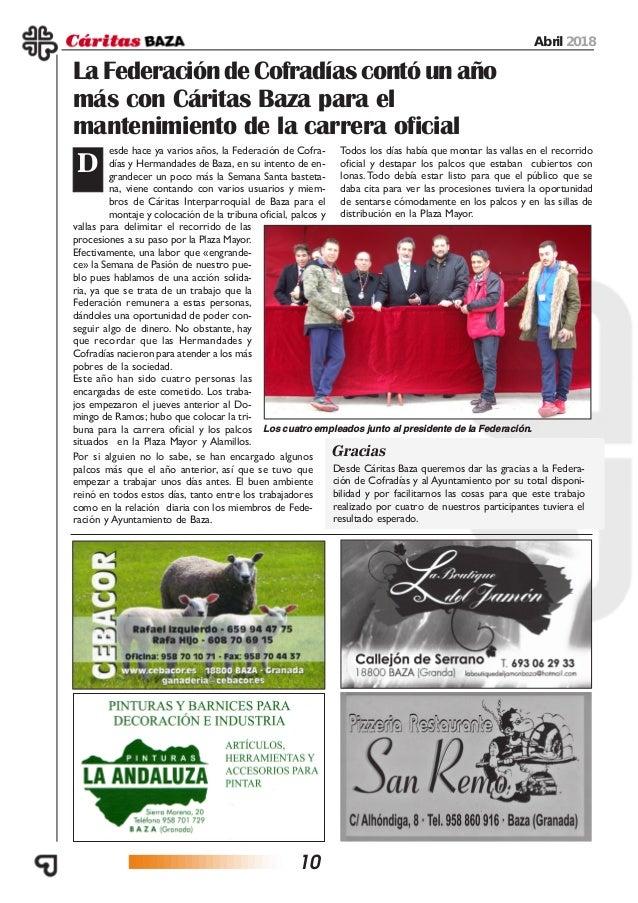 Revista Caritas abril 2018