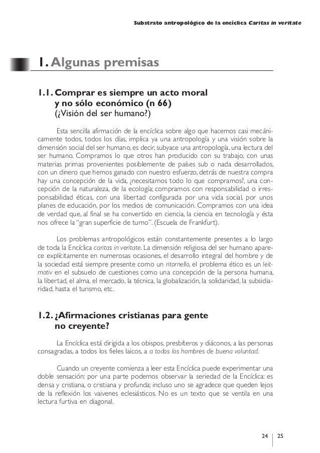 paper on csr caritas in veritate The encyclical caritas in veritate contains only two paragraphs that refer, almost in passing, to corporate social responsibility (csr.