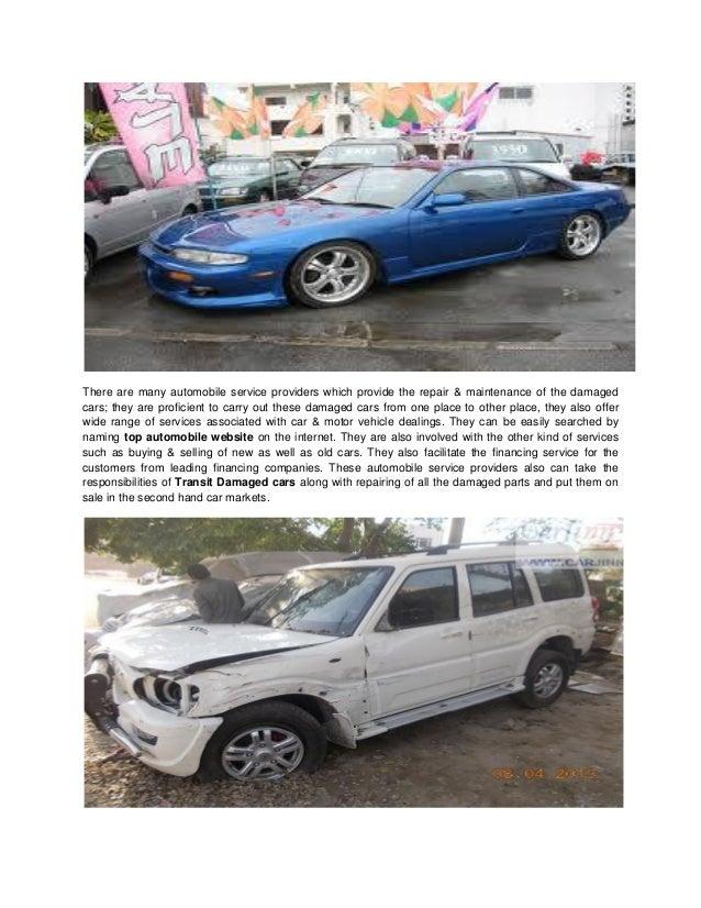 Transit Damaged cars   Accidental cars for sale