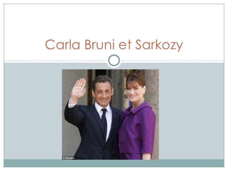 Carla Bruni et Sarkozy