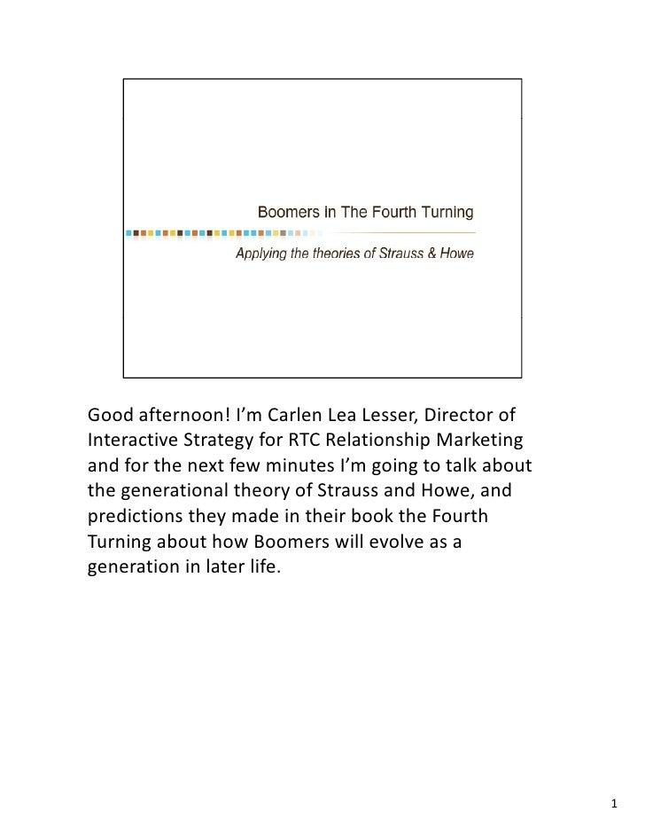 Goodafternoon! I mCarlenLeaLesser,Directorof Good afternoon! I'm Carlen Lea Lesser Director of InteractiveStrategy...