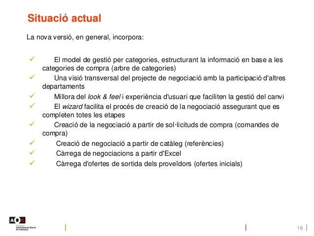  El model de gestió per categories, estructurant la informació en base a les categories de compra (arbre de categories) ...