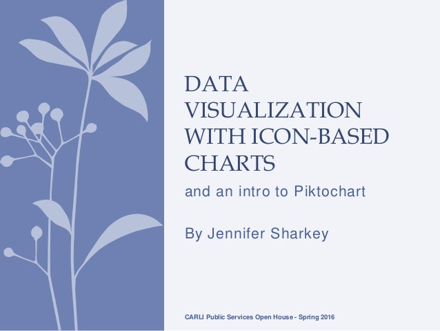 And An Intro To Piktochart By Jennifer Sharkey DATA VISUALIZATION WITH ICON BASED CHARTS CARLI