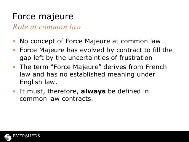 Frustration of contracts and force majeure clauses force pronofoot35fo Image collections