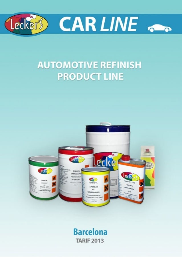 Car refinish products Lecker\'s