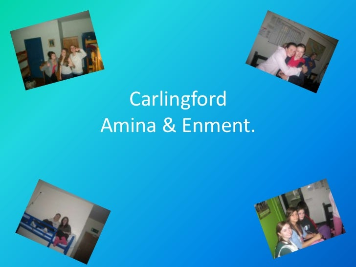 CarlingfordAmina & Enment.<br />