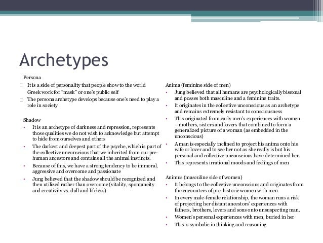 carl jung and the theory of archetypes essay Carl jung's theory essay sample in this essay i aim to demonstrate an understanding of jung's personality types by describing and evaluating his theory and to show how they might useful in helping a therapist to determine therapeutic goals.