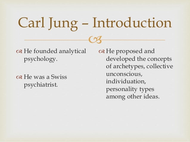 personality types y carl jung Information about personality types the sixteen personality types which we use in our assessment are based on the well-known research of carl jung.
