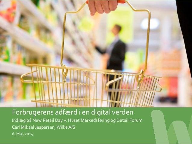 ©  2012  –  Side  1              Forbrugerens  adfærd  i  en  digital  verden...