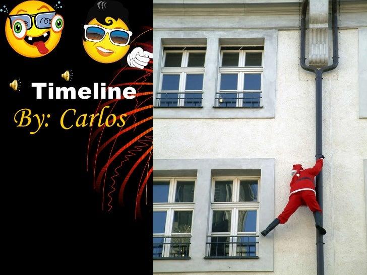 Timeline By: Carlos