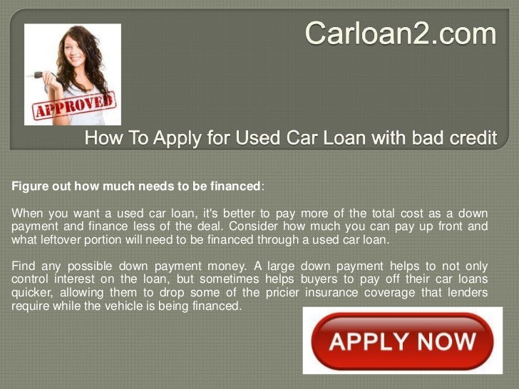Financing used car loan rates pattie 11