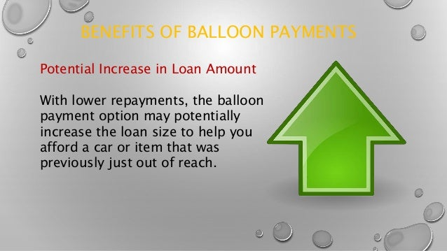 loan balloon payment
