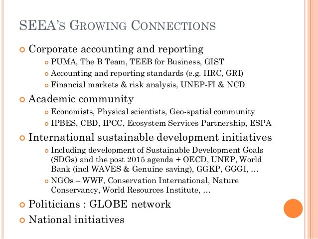 Uses Of Natural Resource Accounting
