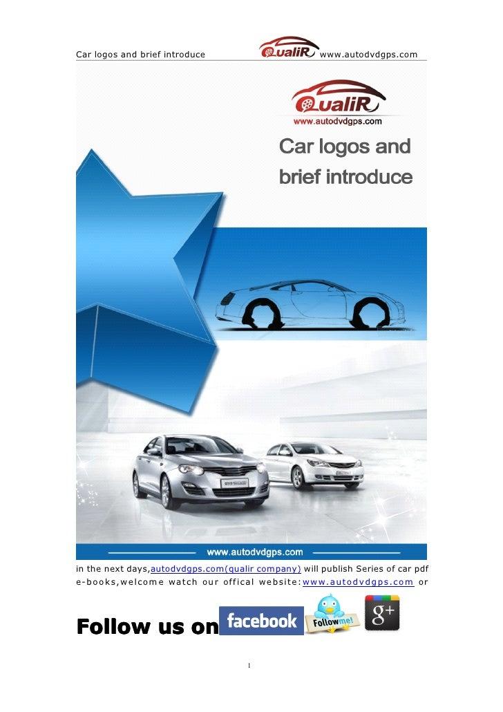 Car logos and brief introduce                        www.autodvdgps.comin the next days,autodvdgps.com(qualir company) wil...