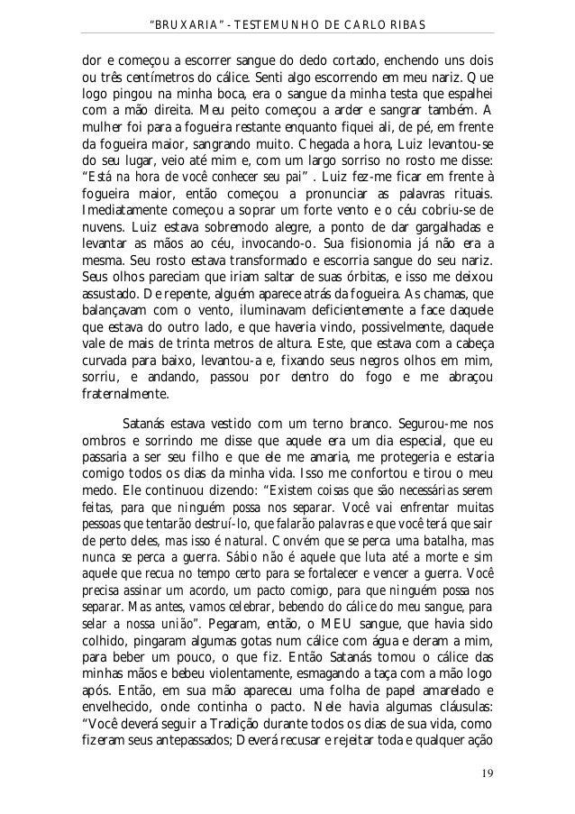 BAIXAR CARLO RIBAS LIVRO BRUXARIA