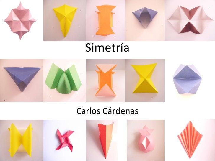 Simetría Carlos Cárdenas