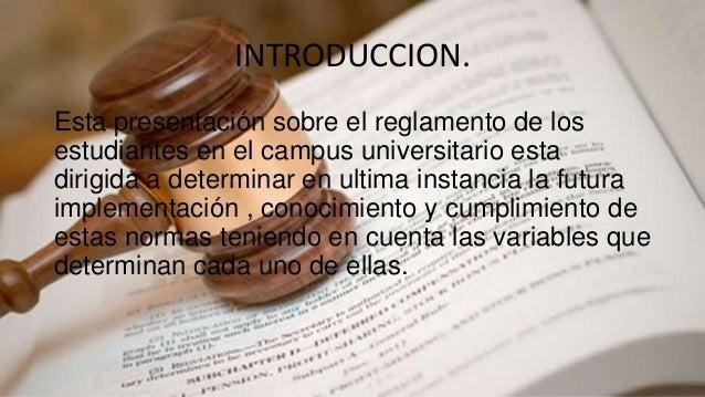 Reglamento de la Universidad Popular Del Cesar  Slide 2