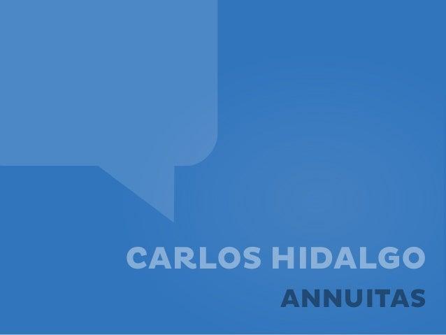 CARLOS HIDALGOANNUITAS