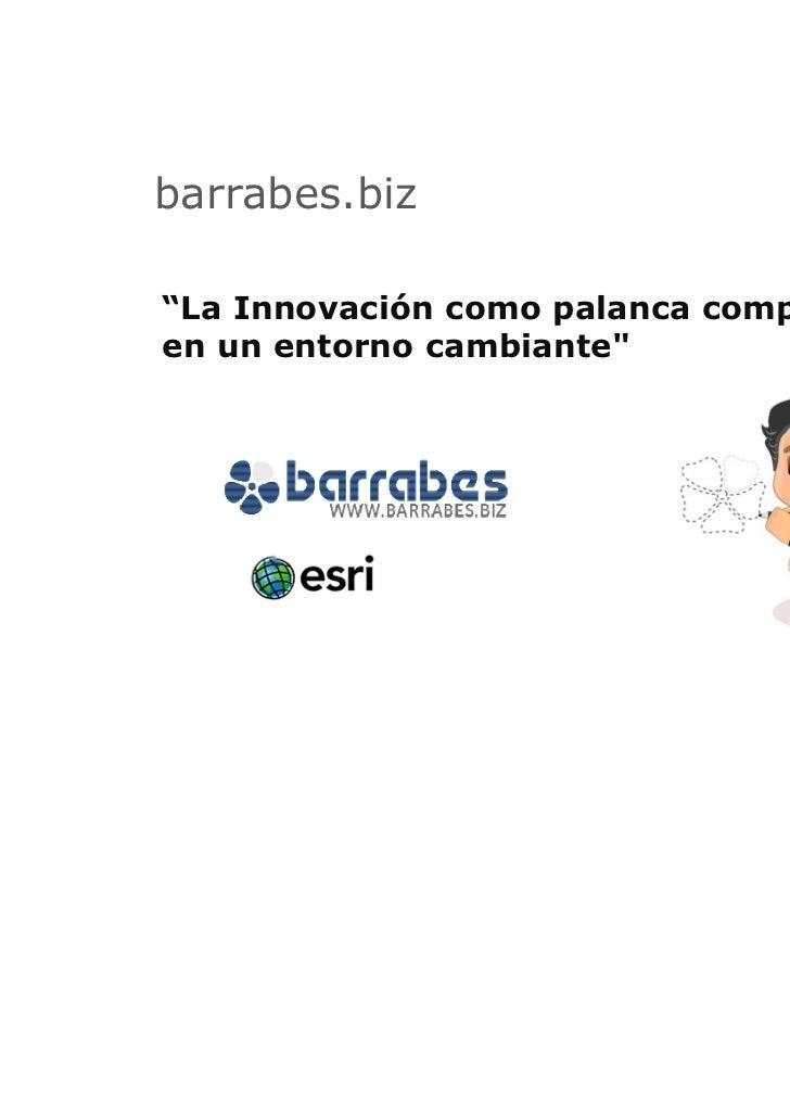 "barrabes.biz""La Innovación como palanca competitivaen un entorno cambiante"""