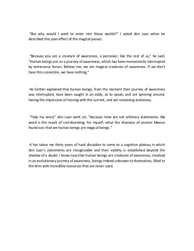carlos castaneda magical passes pdf
