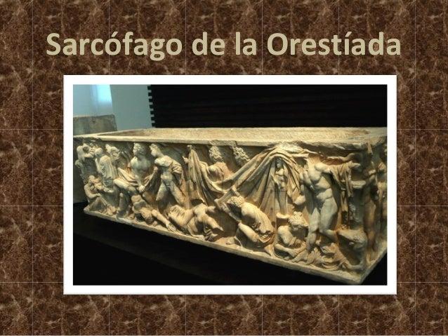Sarcófago de la Orestíada