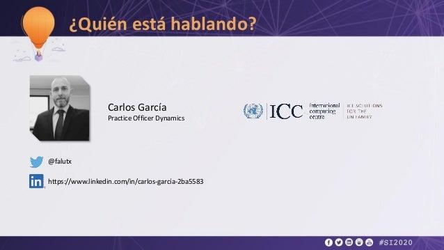 Carlos Garcia, ICC - Fe de vida con biometria y blockchain Slide 3