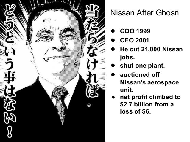 Carlos Ghosn's change leadership insights