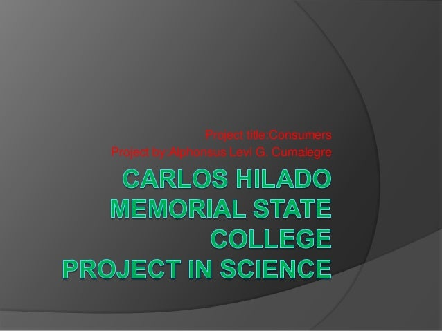 Project title:ConsumersProject by:Alphonsus Levi G. Cumalegre