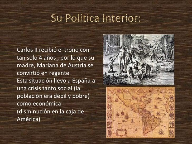 Carlos ii el hechizado2 2 1 for La politica exterior de espana