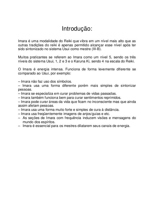 Carlos Rebouças Jr - Imara Reiki Slide 2