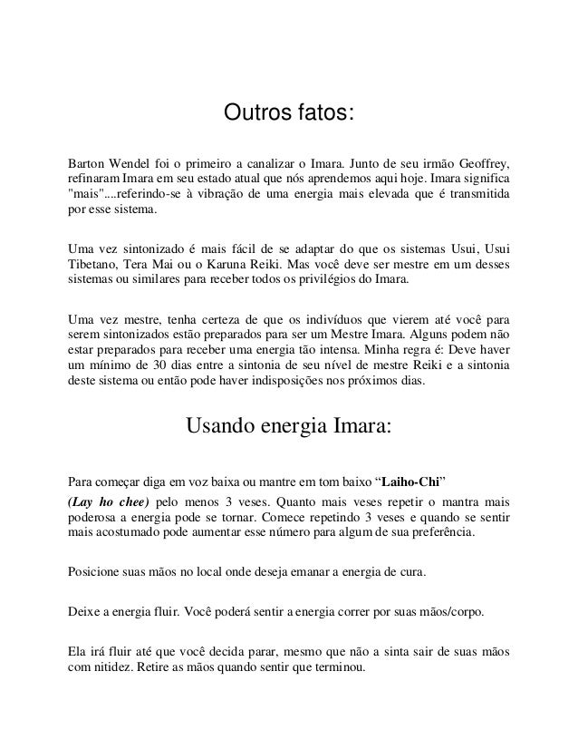 Carlos Rebouças Jr - Imara Reiki Slide 3
