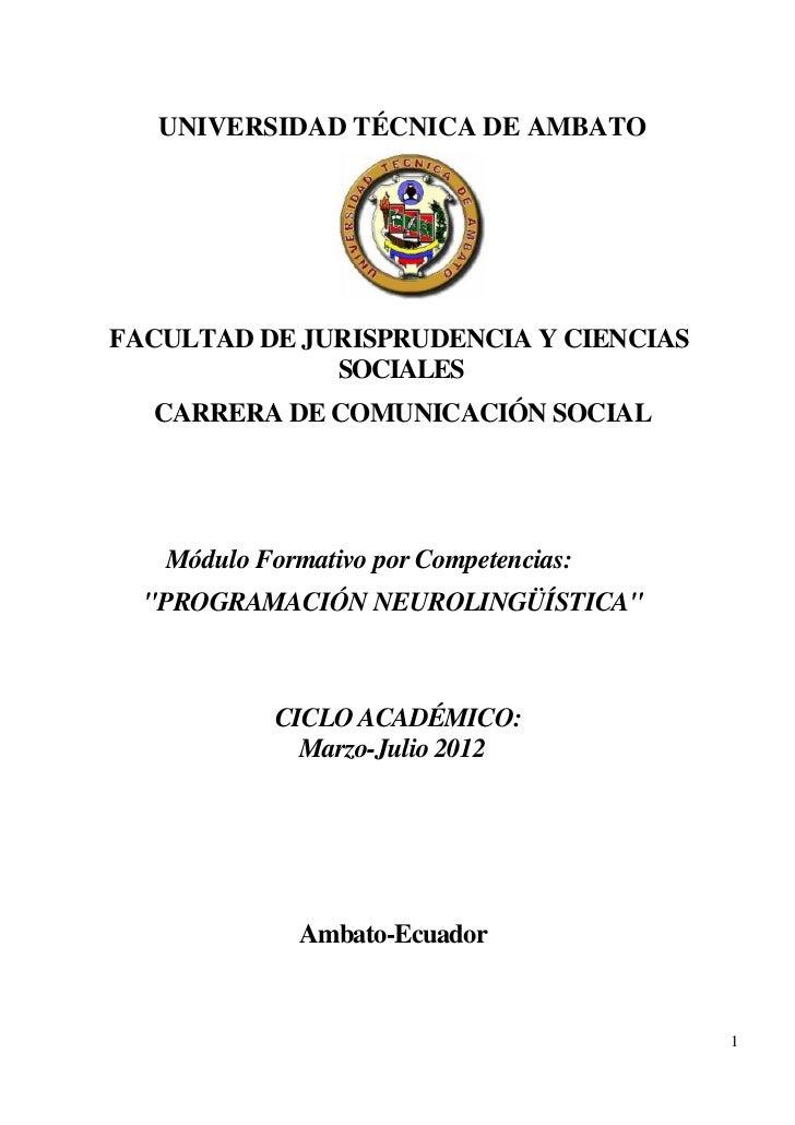 UNIVERSIDAD TÉCNICA DE AMBATOFACULTAD DE JURISPRUDENCIA Y CIENCIAS              SOCIALES  CARRERA DE COMUNICACIÓN SOCIAL  ...