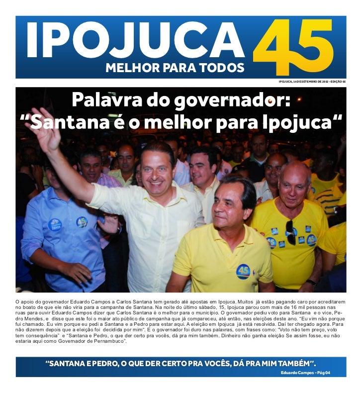 IPOJUCA                           MELHOR PARA TODOS                                                                       ...
