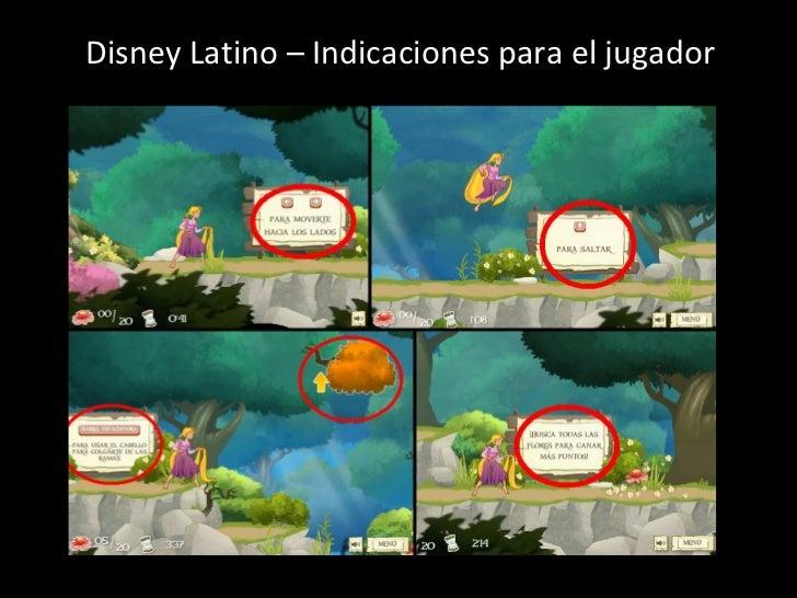 Disney Latino – Indicaciones para el jugador