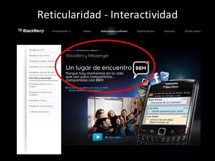 Reticularidad - Interactividad